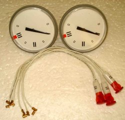 thermometer and Indicator Lamp