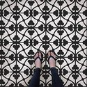 Designer Sandblast Floor Tile