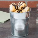 Galvanized Steel Mini Serving Pail Catering Buckets