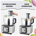 INALSA FOOD PROCESSOR INOX 1000-WATT (BLACK STEEL FINISH)