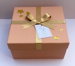 Peach Wooden Gift Box