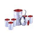 Stainless Steel Copper Jug Set, Capacity: 2 L