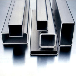 Silver Stainless Steel Square Pipe 347, Thickness: 0.8 - 20mm
