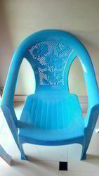 Baby Blue Plastic Chair