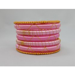 Ladies Silk Thread Bangle