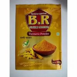 Turmeric Powder Packaging Laminated Pouch