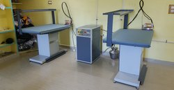 Electric Steam Boiler with Vacuum Tables