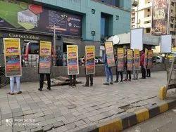 3 Days Outdoor Look Walker Advertising, in Mumbai