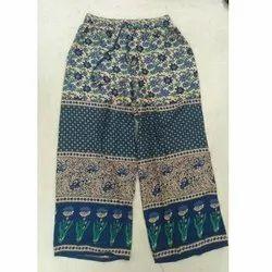 Ladies Printed Palazzo/ Pants