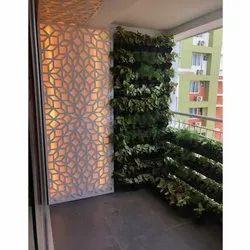 Natural Green Vertical Garden, For Decoration