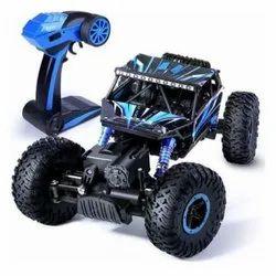 Blue And Black Plastic Rock Remote Car