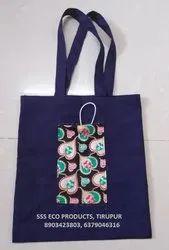 Cotton Designer Hand Bag