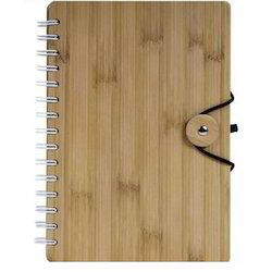 A5 Size Bamboo Diary