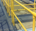 Working Platform Hand Railing