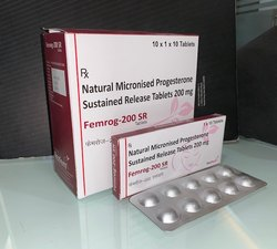 Natural Progesterone 200mg SR Tablets