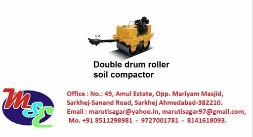 Double Drum Roller Soil Compactor