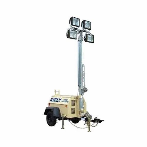 Portable Mobile Light Tower Rent Service