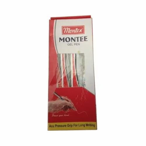 Montex, Yes Plastic Ball Pen, Packaging Type: Packet