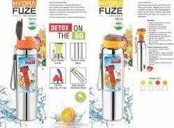Fruit Infuser Steel Water Bottle