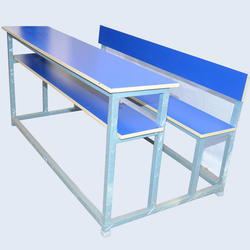 3 Seater Dual Desk Bench