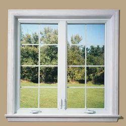 White Aluminium Glass Window