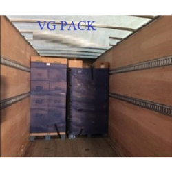 Pallet Covers Palletization For Shipping