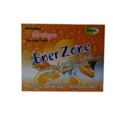 Ener Zone Orange Instant Energy Drink Electrolytes, Packaging Size: 50 Gm