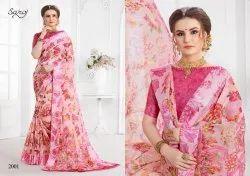 Saroj Launch Annaya Vol 2 Cotton Printed Saree