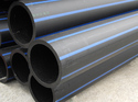 Black HDPE Poly Pipes