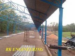 Mild Steel Poultry Sheds