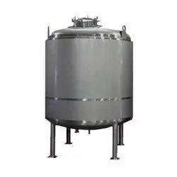 Horizontal SS Storage Tank
