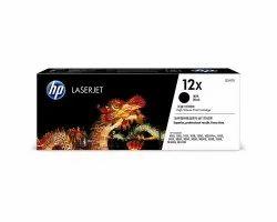 HP 12X Black LaserJet Toner Cartridge