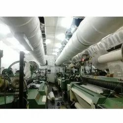 Textile Mill FRP Duct