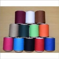 Plain 2 Ply Polyester Yarn, For Garments, Count: 50