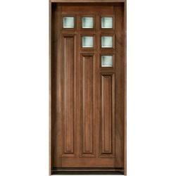 Hinged Solid Wood Door, For Home
