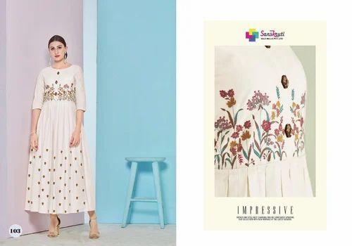 8dd778e2ba Rayon Stylish Party Wear Kurtis, Rs 850 /piece, Krina Fashion | ID ...