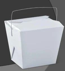 白色电线处理纸食品盒