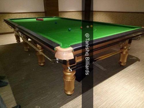 TANISHQ BILLIARDS WOODEN Designer Billiards Table, Rs 135000 /set ...