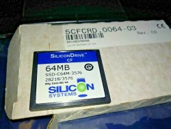 B&R DRIVE, Memory Size: 64MB, Model Name/Number: 5CFCRD.0064-03