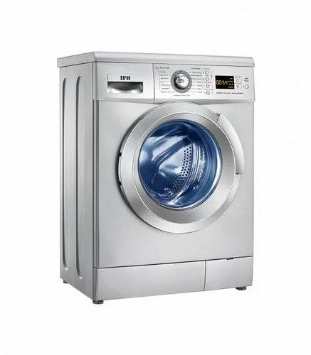 IFB 6.5 kg Fully Automatic Front Load Washing Machine, Senorita Aqua SX, Silver