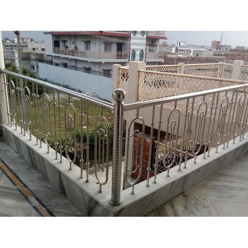Stainless Steel Railing Stainless Steel Roof Railing Manufacturer From Dhanbad