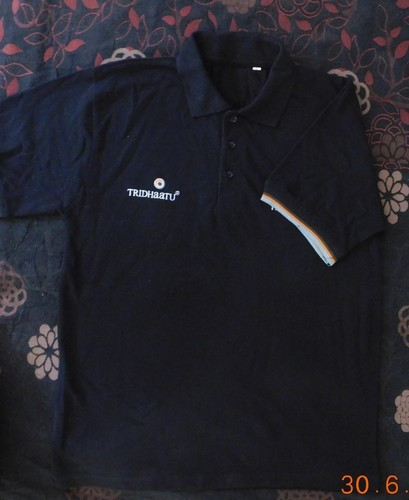 Corporate Logo T Shirt With Embroidery Size Xl And Xxl Rs 395