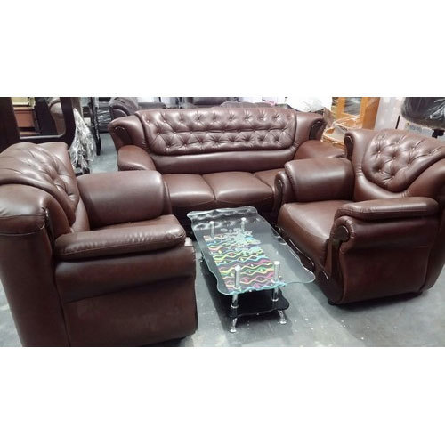 Leather Sofas In Lahore: Sri Sai Home Need
