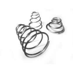 Stainless Steel Taper Spring for Industrial, Packaging Type: Box