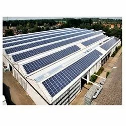 Industrial Roof Top Solar Power Plant