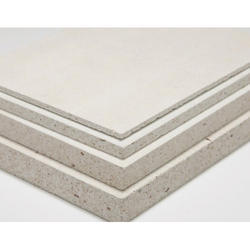White Fire Rated Gypsum Board, Thickness: 15 mm