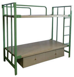 Metal steel storage bunk bed