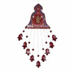 Hanging Clay Bells