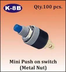 K-8B Mini Push On Switch
