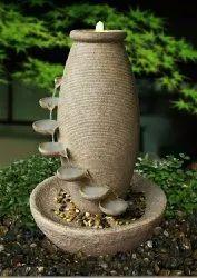 Stone FRP Indoor Fountain, 68.5*68.5*127